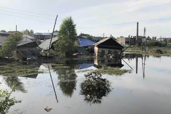 В Нанайском районе Хабаровского края началось затопление