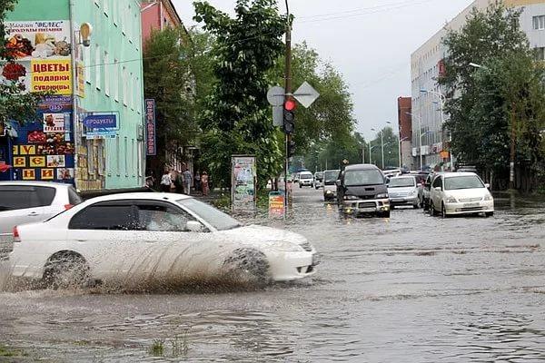 В Амурской области снова объявили штормовое предупреждение
